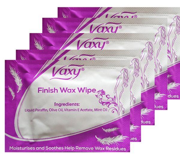 Finish wax wipes