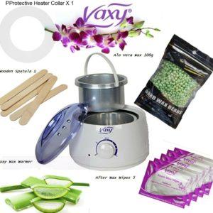 Wax Warmer, Aloe Beads 100g Hair Removal Waxing Kit