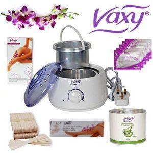 Hair Removal Waxing Kit, Soft Wax 400g, Spatula