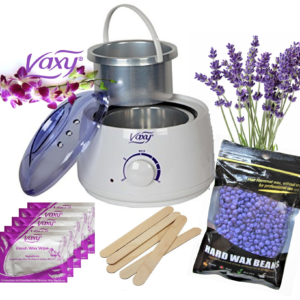 Wax Warmer, 100g Lavender Beads  Waxing Kit