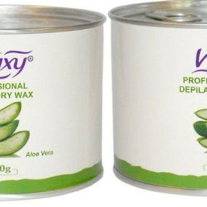 High Performance, Professional Grade Creamy Aloe Vera Wax Cream Salon Face Body Leg Hair Removal 2 X 400g