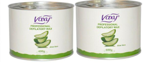 after wax cream