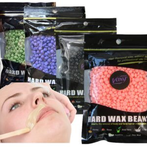 Wax Beans – Hard Wax Beans – Yellow Wax Beans- for Painless Wax for Bikini, Arms, Legs, Armpit with Different Flavor