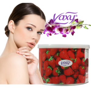 Vaxy Strawberry Depilatory Wax Cream Salon Face Body Leg Hair Removal
